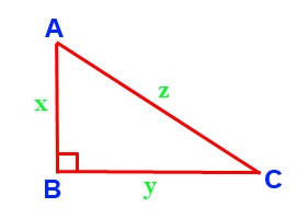 Dot product pythagoras theorem
